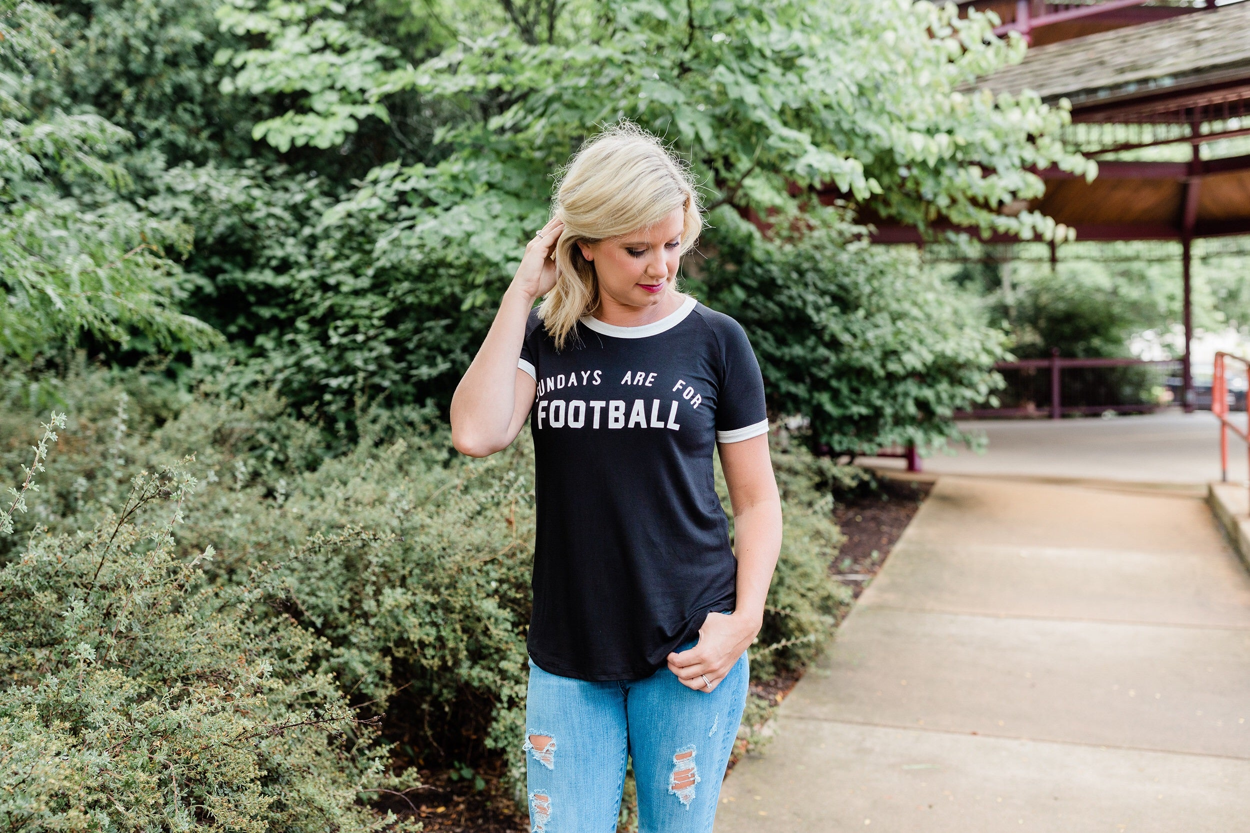 Sundays Are For Football Graphic Tee