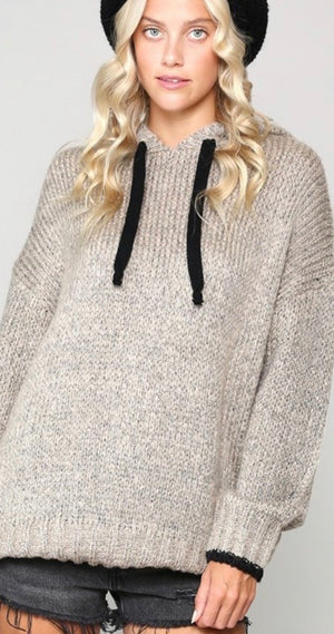 Champagne Sweater Pullover
