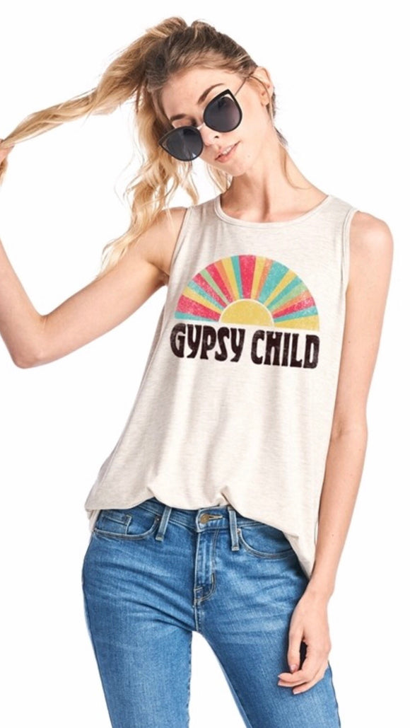 Gypsy Child Graphic Tank