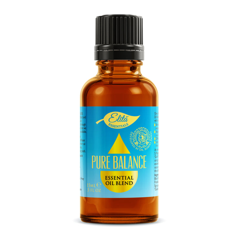 Dr. P's Pure Balance Blend 15ml - Elită Essentials