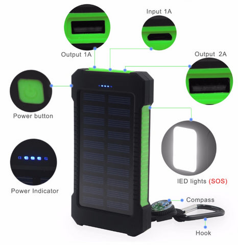 solar power 20000MAH