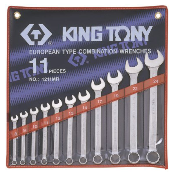 11 PC. Combination Wrench Set 1/4 - 15/16 King Tony - Dizzel Shopping