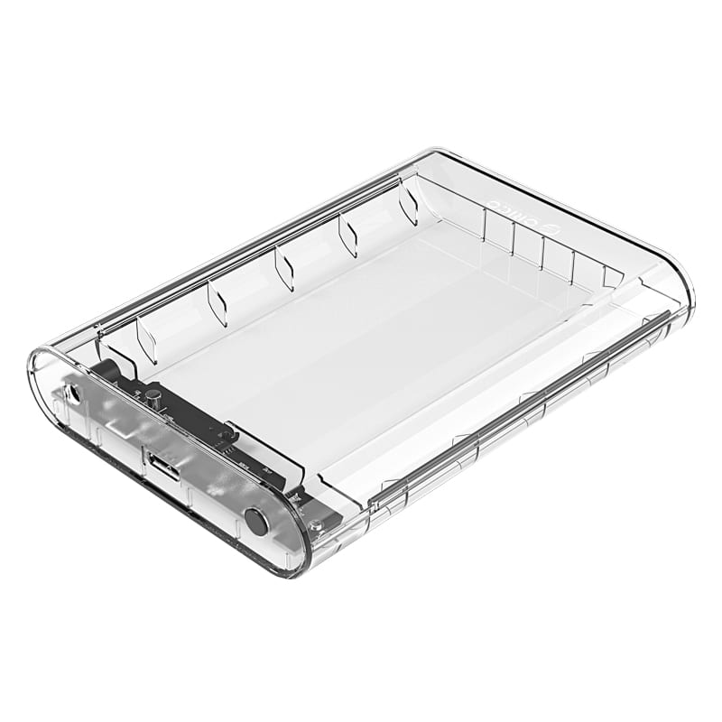 Orico 3.5 USB3.0 External HDD Enclosure Transparent