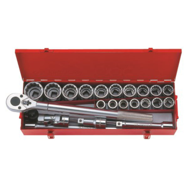 "3/4"" DRIVE SOCKET SET 23 PCS"