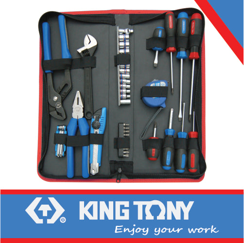 Combination Tool Kit in Pouch – 43pcs - Dizzel Shopping