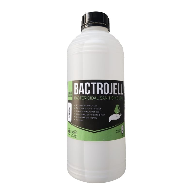 Bactrojell Bactericidal 1 Litre Sanitising Jell (SABS 1853)