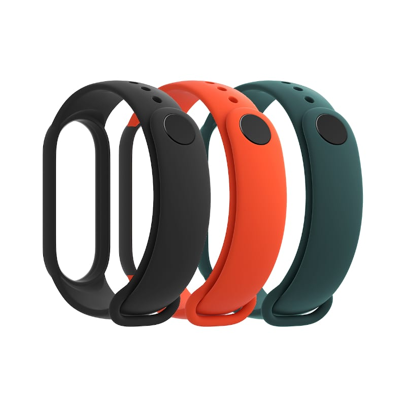 Xiaomi Mi Smart Band 5 Strap 3 Pk Bk Or