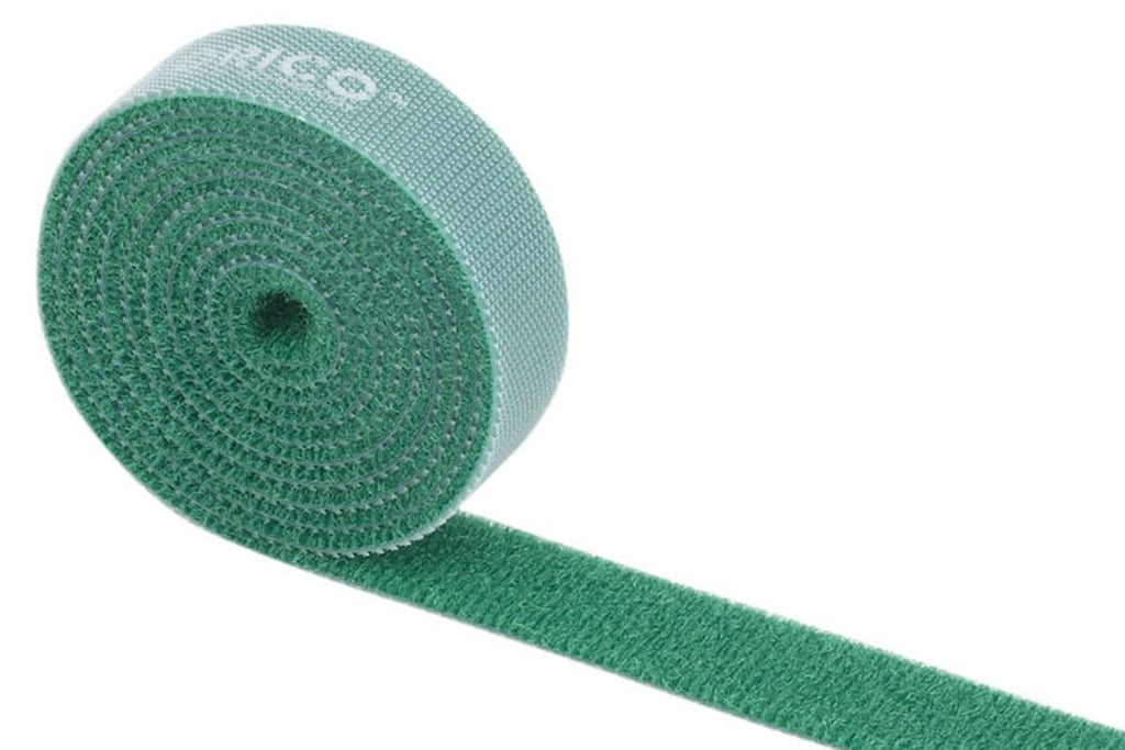 Orico velcro cable ties 1m - Green