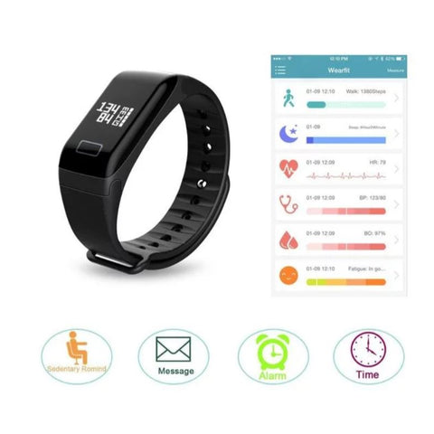 GPS 2G BT Smart Heart Rate Sport Watch-BLACK – Dizzel Shopping