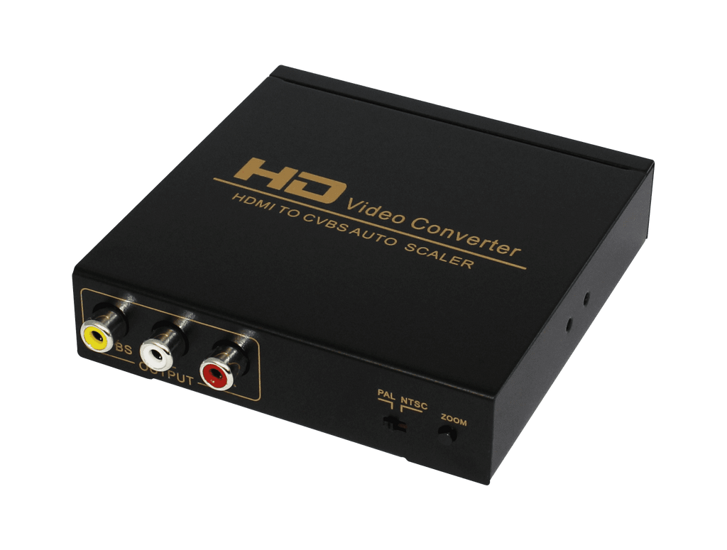 HDCVT HDMI to AV Converter-Hardware scaler