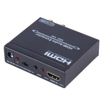 HDCVT HDMI1.4 to HDMI+Audio Repeater