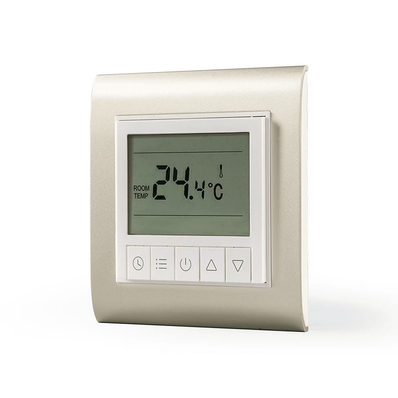 Lifesmart Smart Underfloor Thermostat Base and Panel White/Gold