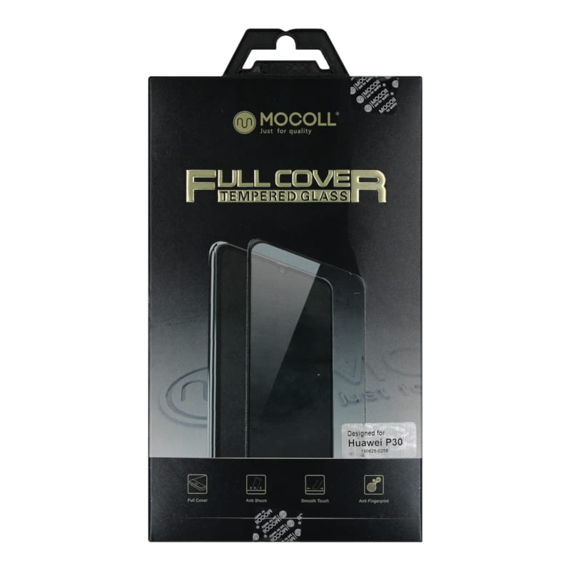 Mocoll 2.5D 9H Tempered Glass Full Cover 0.33mm Huawei P30 Black
