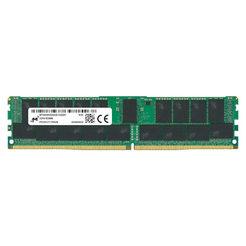 Micron 32GB DDR4 3200MHz Single Rank Registered Dimm