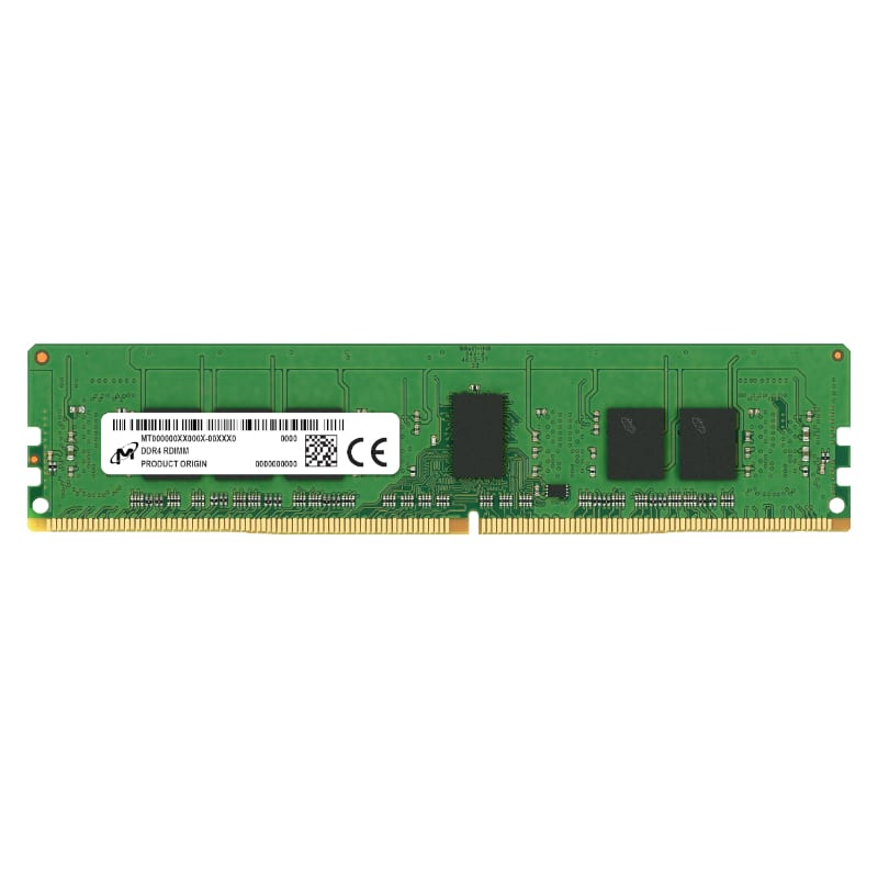 Micron 8GB DDR4 2933MHz Single Rank Registered Dimm