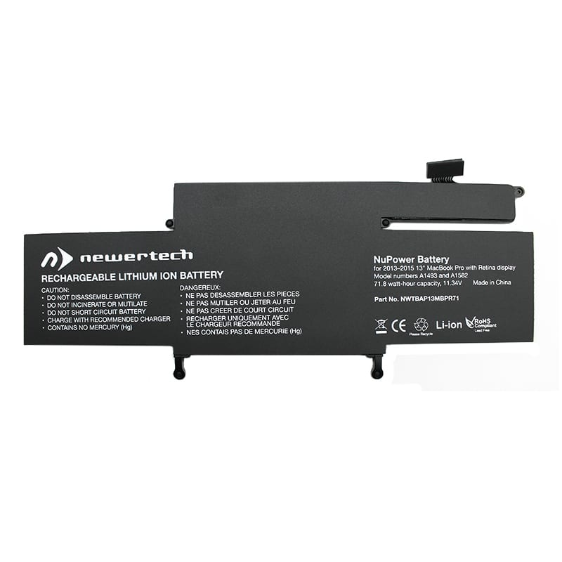 Newertech 71W Replacement Battery for 13 Macbook Pro with Retina Display (Late 2013-2015)
