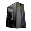 Antec NX110 ARGB Tempered Glass Side (GPU 350mm) ATX|Micro ATX|Mini ITX Gaming Chassis - Black