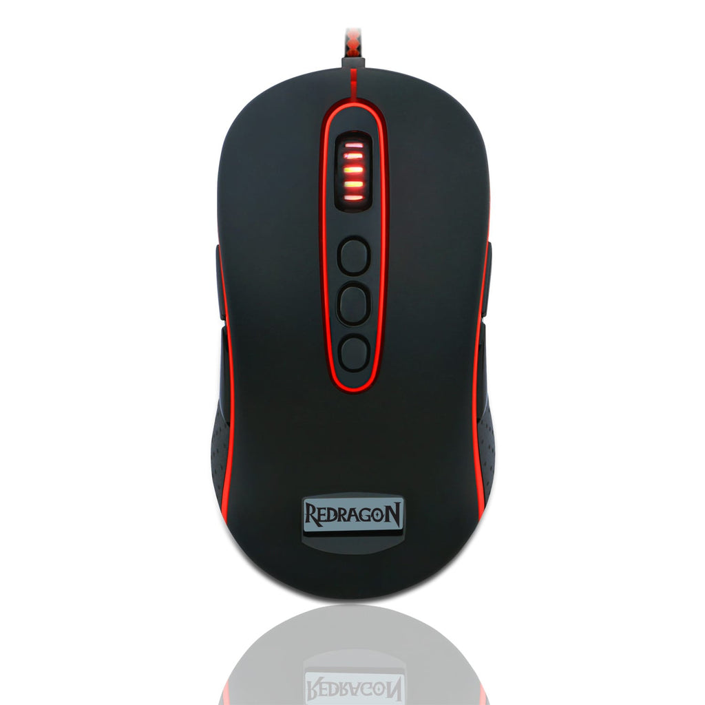 Redragon MARS 4000DPI Gaming Mouse - Black