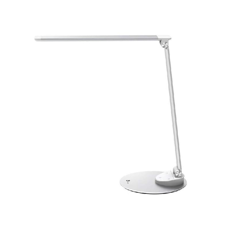 Taotronics LED 420 Lumen Desk Lamp with USB 5 V/2A Charging Port - Silver