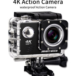 Ultra HD 4K action Camera wifi 16MP 170 go cam Waterproof  ** Local Stock ** - Dizzel Shopping