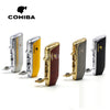 COHIBA Red Shape Metal Windproof 3 Torch Jet Flame Cigarette Cigar Lighter - Dizzel Shopping