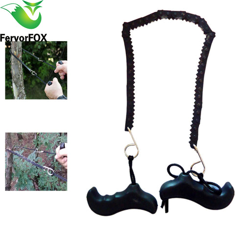 Camping Hiking Emergency Survival Hand Tool Gear Pocket Chain Saw ChainSaw Camping Saws - Dizzel Shopping