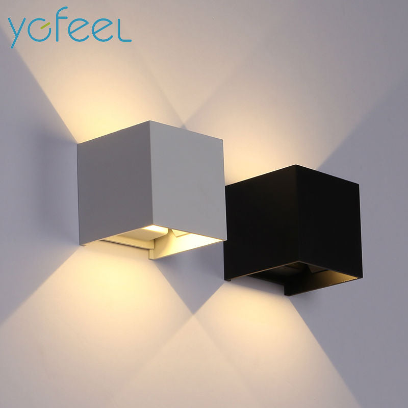 6W LED Wall Light Outdoor Waterproof IP65 Modern style Indoor Wall Lamp AC90-260V - Dizzel Shopping