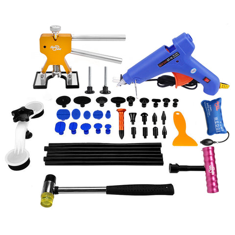 PDR Tools Paintless Dent Repair Tools  Hot Melt Glue Sticks Glue Gun Puller Tabs Kit ** FREE COURIER SHIPPING ** - Dizzel Shopping