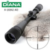 Tactical DIANA 4-16X42 AO Riflescope Mil Dot Reticle Optical Sight Hunting Rifle Scope - Dizzel Shopping
