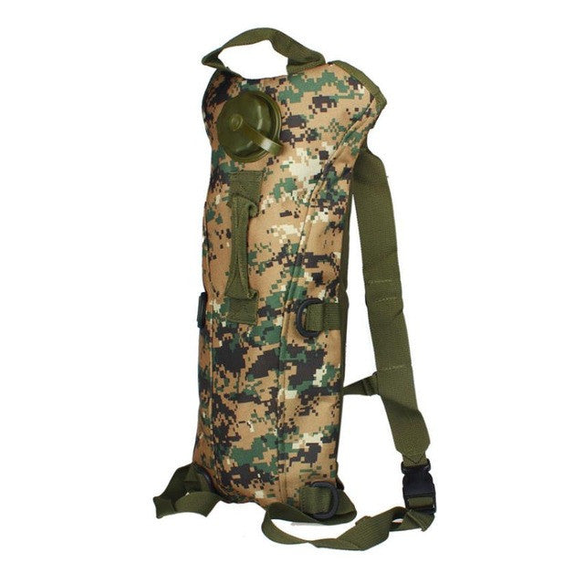 Hydration System Water Bag Pouch Backpack Bladder Hiking Climbing Survival 3L# - Dizzel Shopping