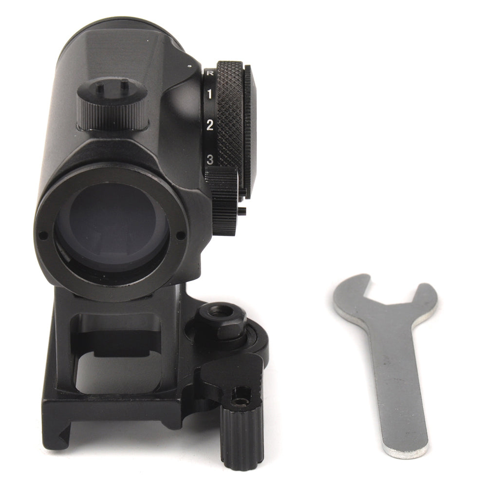 Tactical Mini 1X24 Rifescope Sight Illuminated  Red Green Dot Sight With Quick Release Red Dot Scope - Dizzel Shopping