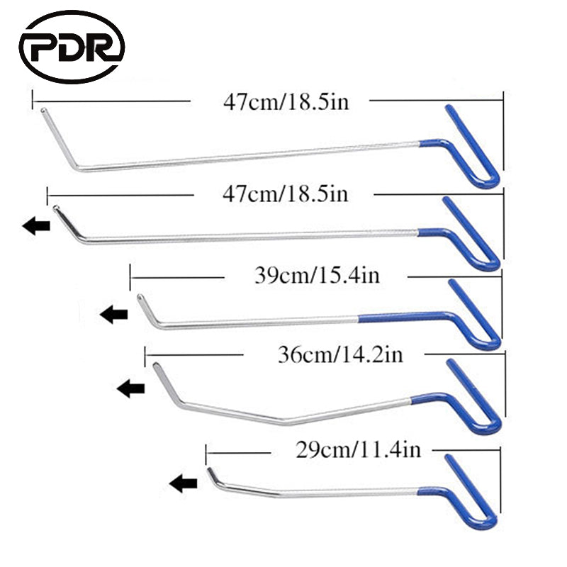 PDR Tools Hooks Push Rods Dent Removal Paintless Dent Repair Kit ** FREE COURIER SHIPPING ** - Dizzel Shopping
