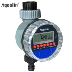 Automatic  Electronic LCD Display Home  Ball Valve  Water Timer Garden Watering Timer Irrigation Controller System #21026 - Dizzel Shopping