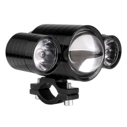 U10 30W LED Motorcycle Headlight Devil Eyes Light Fog Lamp 12-80V Waterproof - Dizzel Shopping