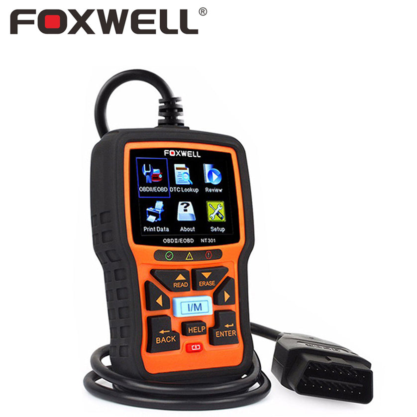 FOXWELL NT301 OBD 2 Automotive Scanner Car OBD2 EOBD OBDII - Dizzel Shopping