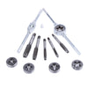 12pcs Tap Dies Set NC Screw Hand Screw Tap M6 M7 M8 M10 M12 With Adjustable Wrench ** LOCAL STOCK ** - Dizzel Shopping