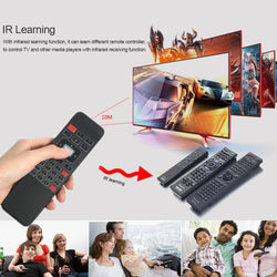 2.4G Backlight Air Mouse Wireless Keyboard Remote Control - Dizzel Shopping