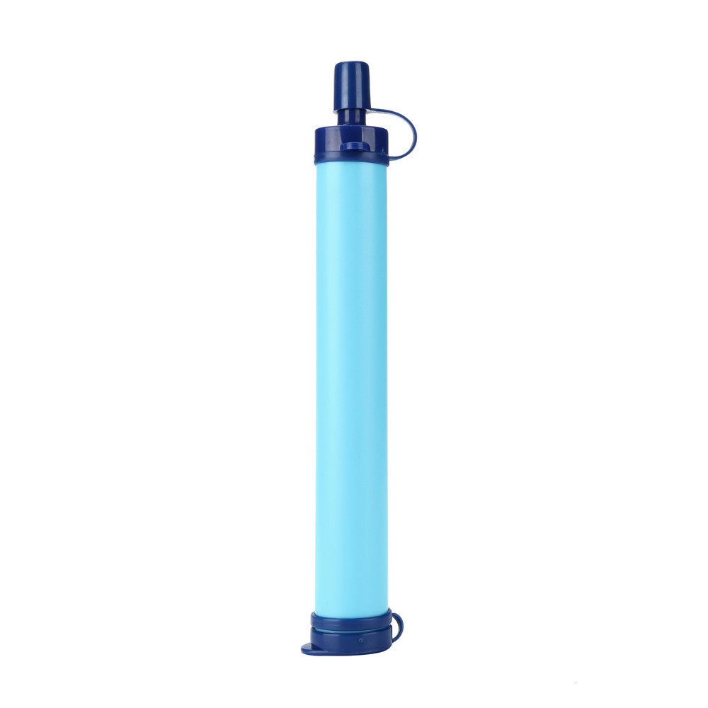 Camping Hiking Emergency Life Survival Portable Purifier Water Filter Straw Gear - Dizzel Shopping