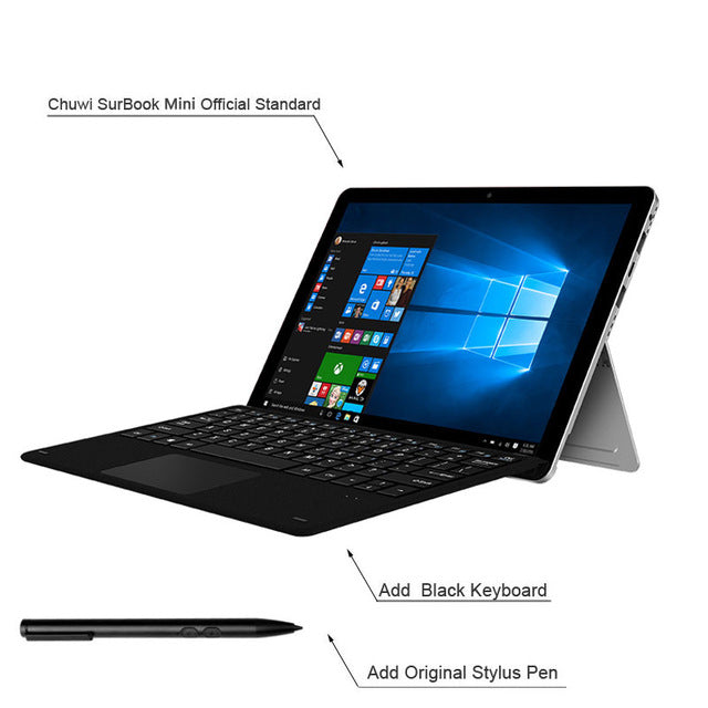CHUWI Surbook Mini Tablet PC Windows 10 Intel Apollo Lake N3450 Quad Core - Dizzel Shopping