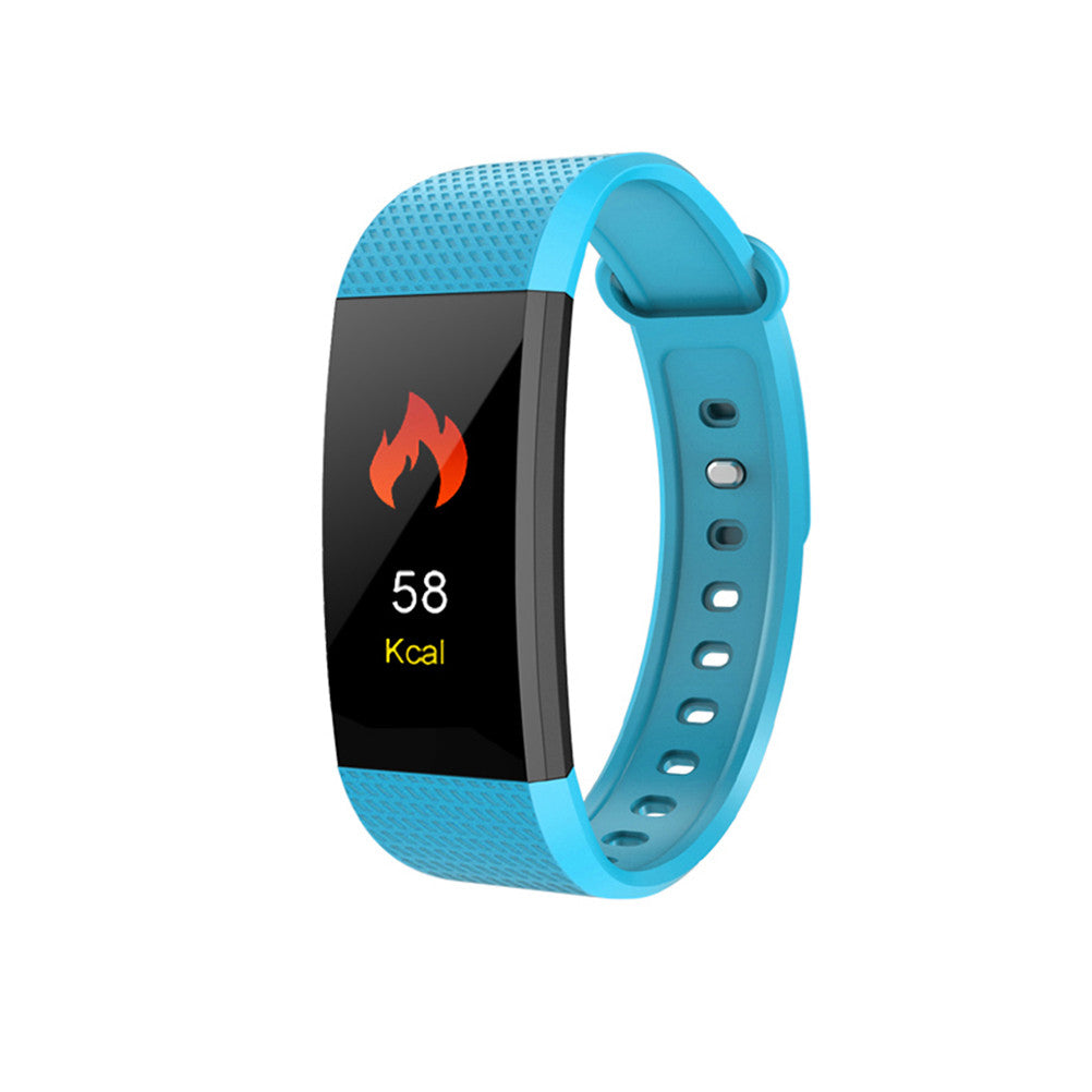 Smart Watch Heart Rate Monitor Color Screen Sport Watch Pedometer Monitor Smart Band Bracelet - Dizzel Shopping