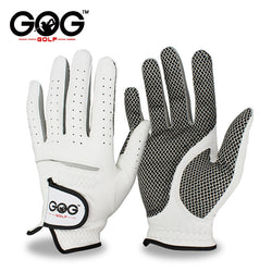 Genuine Leather Golf Gloves Men's Left Right Hand Soft Breathable Pure Sheepskin Golf Gloves Golf accessories - Dizzel Shopping