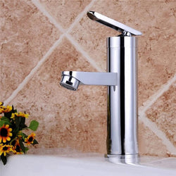 Deck Mount Chrome Bathroom Basin Faucet - Dizzel Shopping