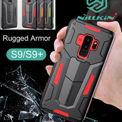 Nillkin Defender Case For Samsung Galaxy S9 Plus Tough Rugged Armor Drop resistance anti hit Cover - Dizzel Shopping