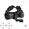 AT M3 Optical sight Red Dot Hunting Scope Collimator Sight Rifle Reflex Shooting L Shaped Mount - Dizzel Shopping