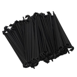 New Hook Irigation 50Pcs 11cm Plastic Fixed Stems Support Holder for 4/7 Drip Irrigation Water Hose for 4/7mm Drip Tubing - Dizzel Shopping