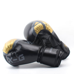 HIGH Quality Adults Women/Men Boxing Gloves Leather MMA Muay Thai Boxe De Luva Mitts Sanda Equipments8 10 12 6OZ boks - Dizzel Shopping