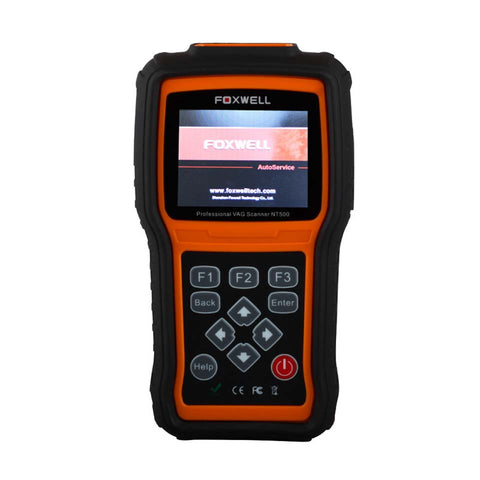 Foxwell NT500 VAG Scanner Diagnostic Scanner Tool OBDII All Systems Including Engine Airbag ABS A/T OBD2 Car Diagnostic-Tool - Dizzel Shopping