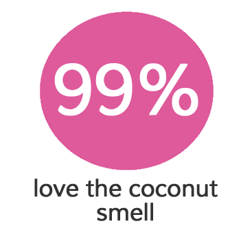 coconut smell