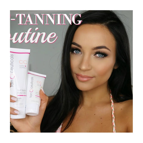 Body + Face CC Self Tanning Kit, Dark