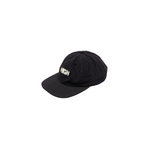 6 Panel High Logo Black